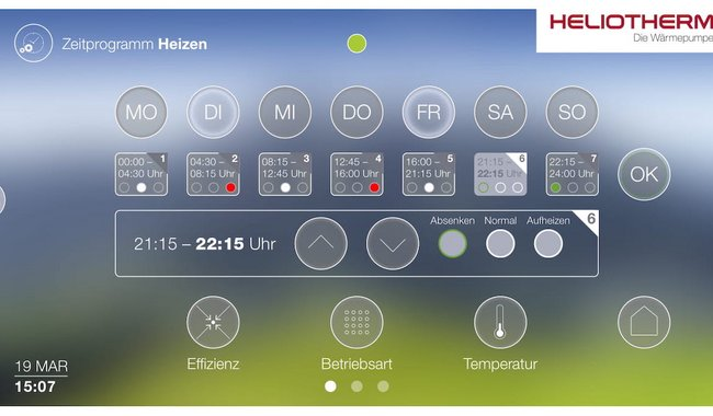 Heliotherm Remote Control
